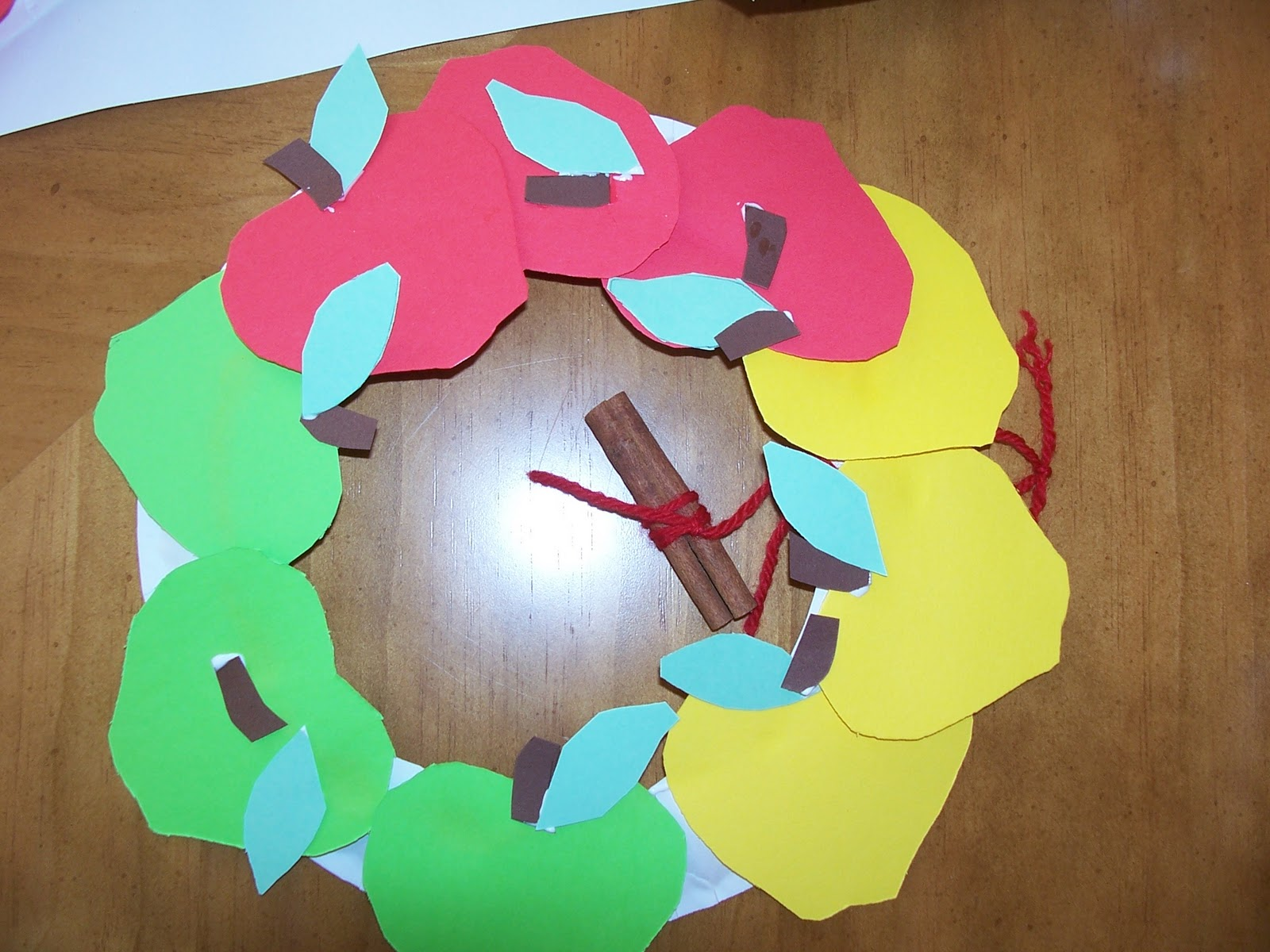 tissue paper stained glass lesson