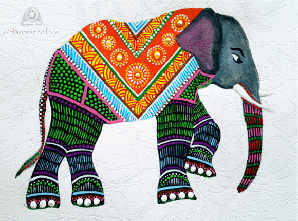 An Intro And Video Tutorial On Gond Art Work Flavors N Colors
