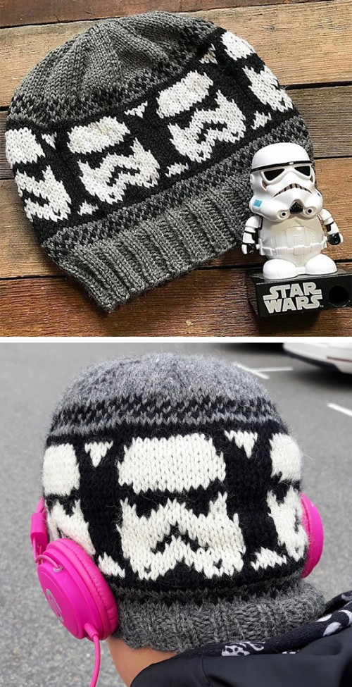 Storm Trooper Beanie - Free Pattern
