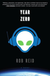 book cover of Year Zero by Rob Reid published by Del Rey Books