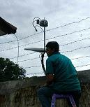 cara mencari sinyal parabola