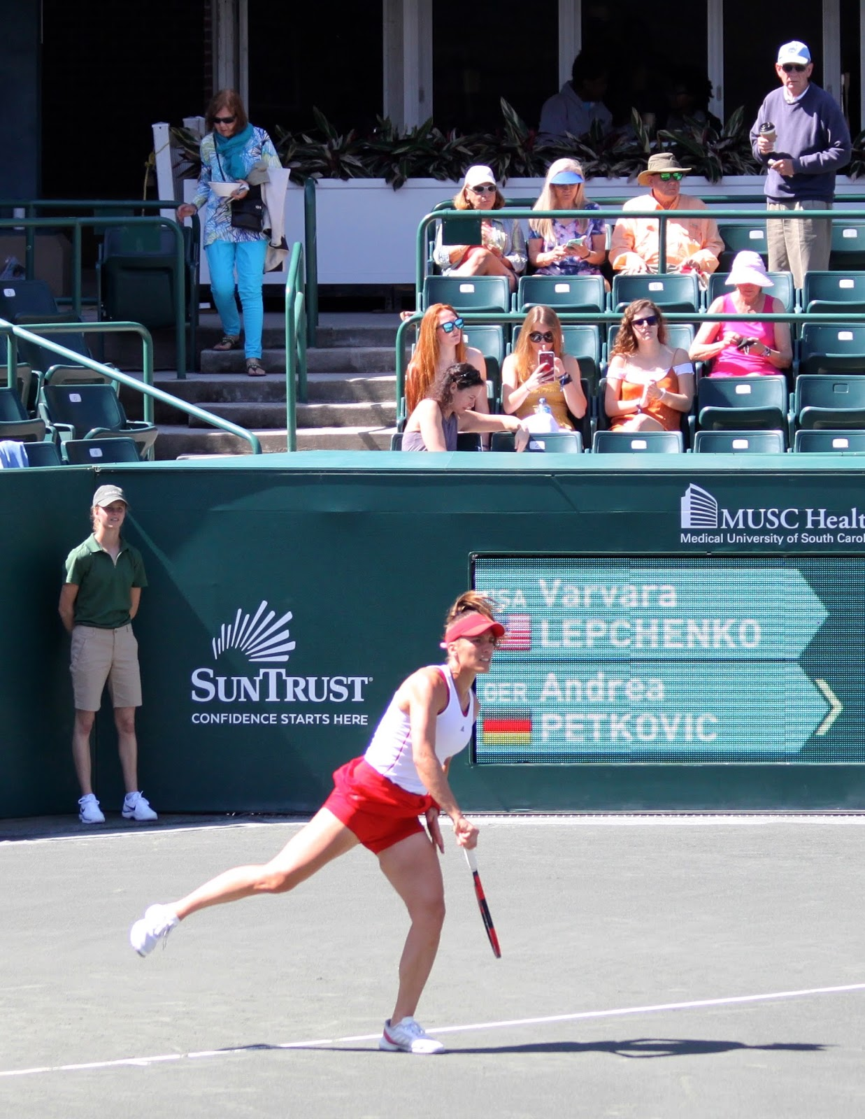 lowcountry outdoors: 2018 volvo car open - tennis begins