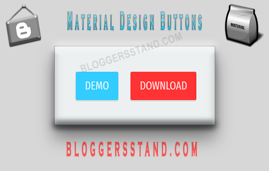 How To Add Ripple Animation Material Buttons In Blogger