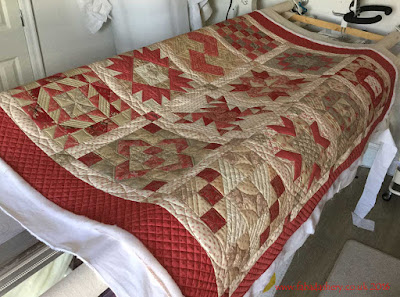 Jelly Roll Sampler Quilt - French General fabrics