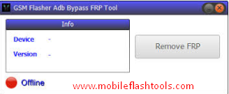 GSM Flasher ADB Bypass FRP Tool PRO Latest Version Download [2018]