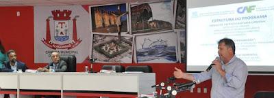 Secretário de Infraestrutura é sabatinado na Câmara Municipal de Alagoinhas