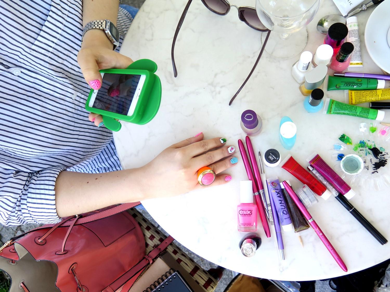 Pomalowałam paznokcie Kasi z bloga Zenja! Spotkanie w Charlotte Menora w Warszawie