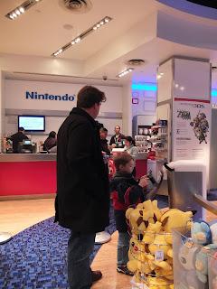 Nintendo world storeのお客さん