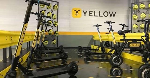 Dona de Grin e Yellow, empresa de patinetes será vendida  por US$ 1