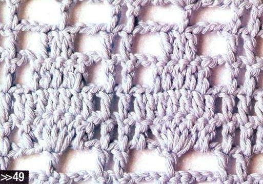 Patron #1703: Punto Calado a Crochet