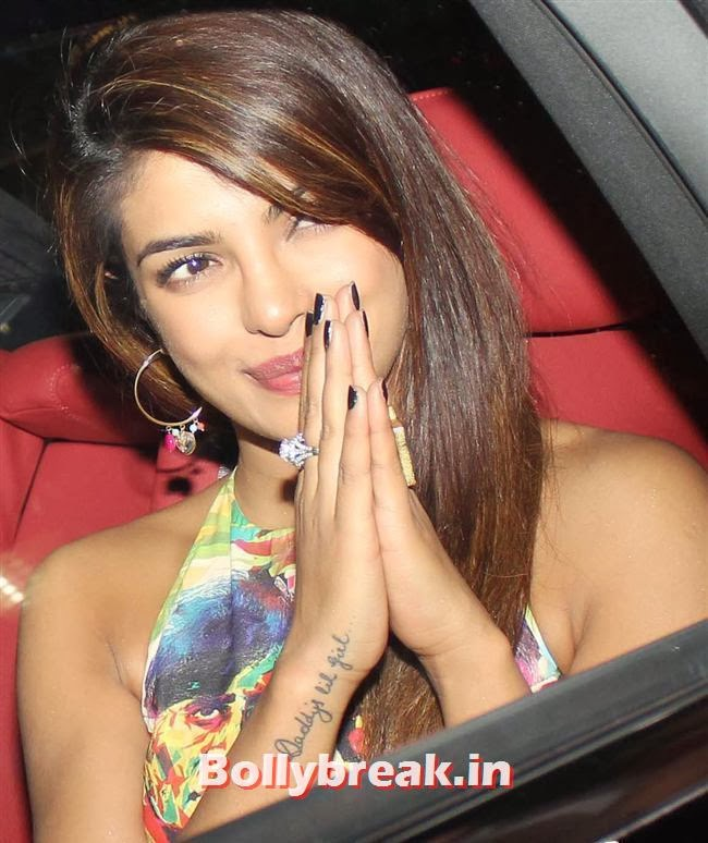 Priyanka Chopra, Deepika, Ranverr, Jackie, Malaika & Other Celebs at Gunday Special Screening