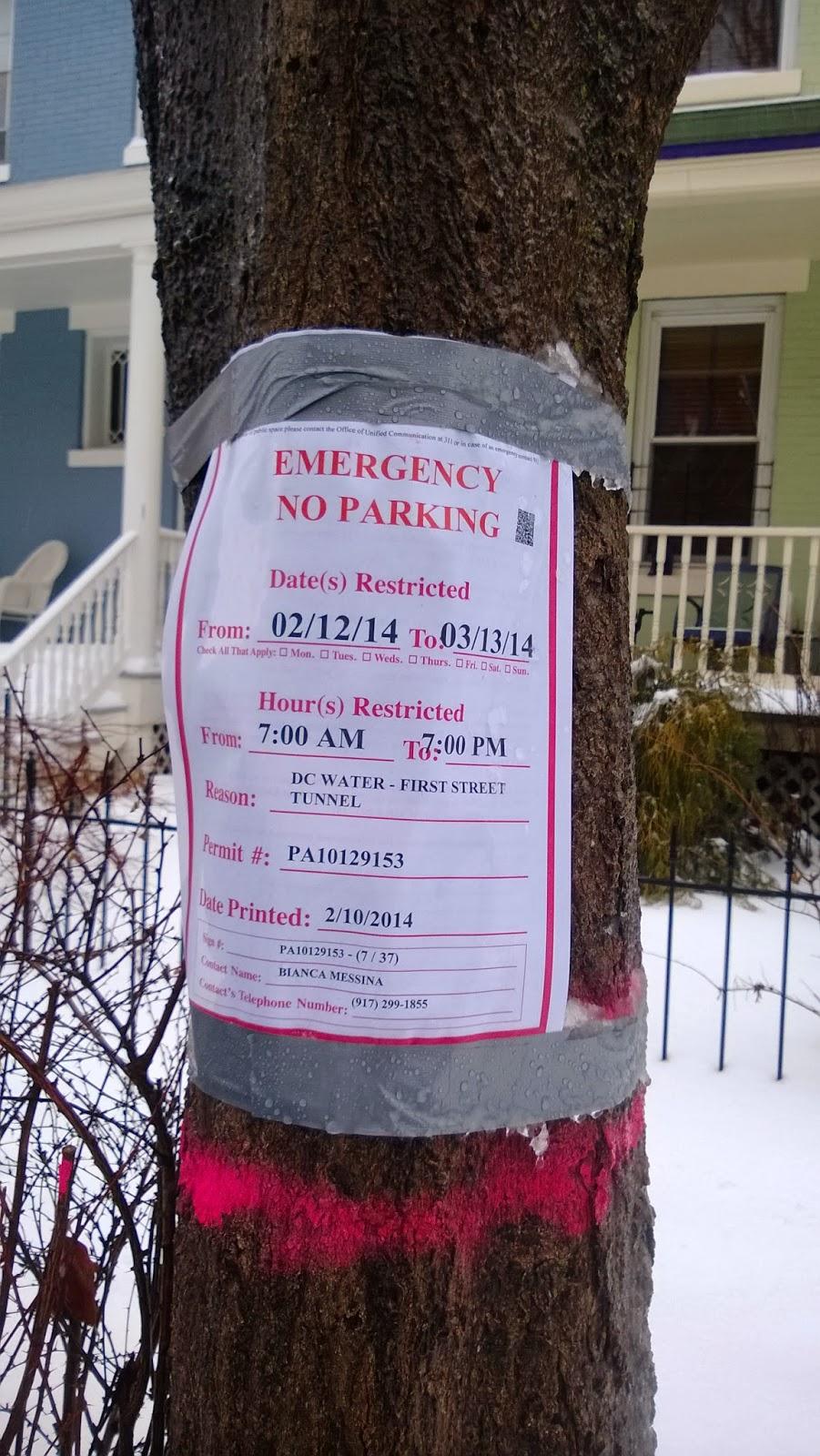 Bloomingdale No Parking Signs Erected Around Flagler Adams 2nd St