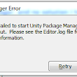 Unity 2017.2 package manager error