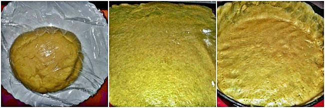 Preparación de la masa brise para fondos de tartas