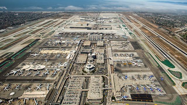 Aluguel de carro no aeroporto de Los Angeles