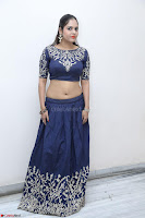 Ruchi Pandey in Blue Embrodiery Choli ghagra at Idem Deyyam music launch ~ Celebrities Exclusive Galleries 075.JPG