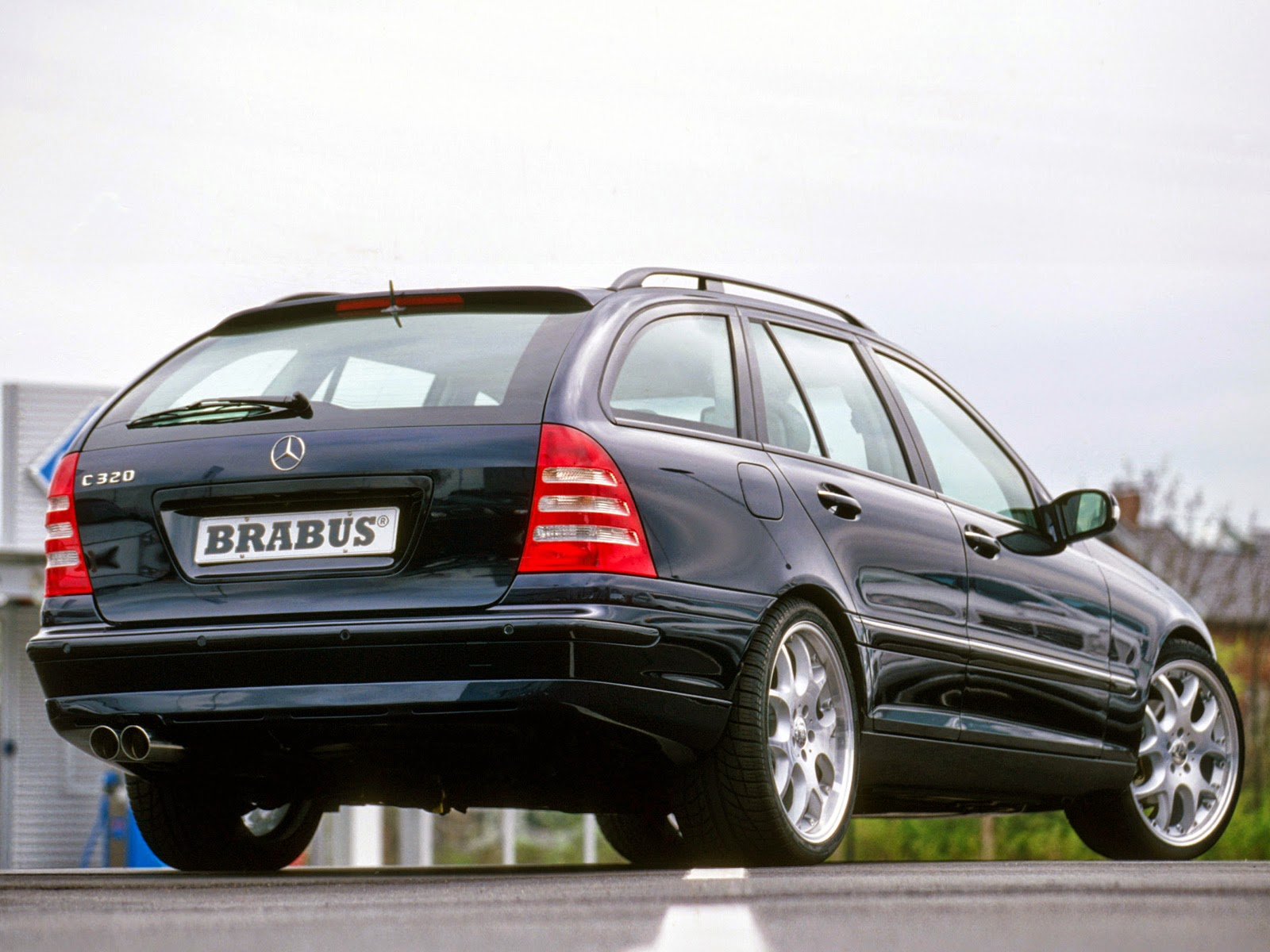 G Wagon 6X6 >> Mercedes-Benz C320 S203 BRABUS | BENZTUNING