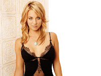 Wallpaper Kaley Cuoco Top Class Beautiful Women