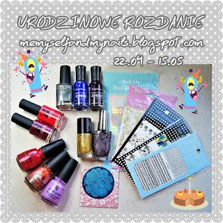 http://memyselfandmynails.blogspot.com/2017/04/3-urodziny-bloga-rozdanie.html