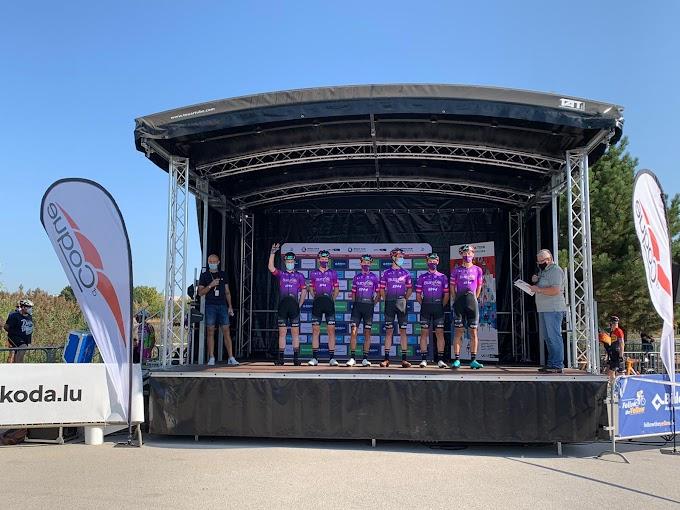 Jetse Bol consiguió la 16ª posición en el primer sprint del Skoda Tour