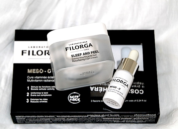 filorga meso-C sleep and peel test avis