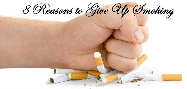 8 Reasons To Give Up Smoking