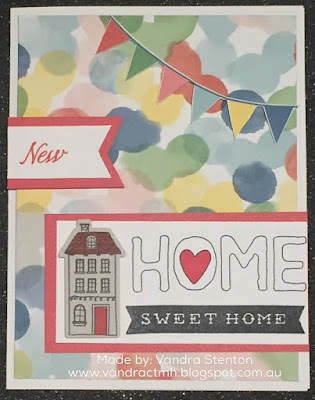 #CTMHVandra, Vandra, #CTMHCentralPark, home, house warming, welcome home, thin cuts, Balloon, houses, bunting, Sequins, bright, cardmaking, blog hop, 3D Foam, Ribbon, shin han marker,