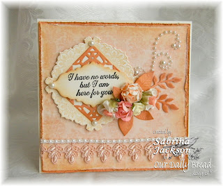 Stamps - Our Daily Bread Designs Ornate Borders and Flowers, Ornate Borders & Flower Die, No Words, ODBD Custom Fancy Foliage Die