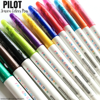 Malimo Mode - Top 10 Favorite Back To School Finds! Erasable pens from Pilot!