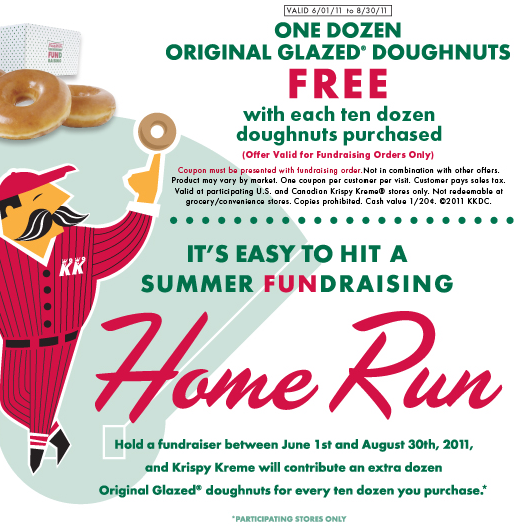 Oct 31, · 3. Krispy Kreme promo codes can only be used at the official online merchandise shop. If you have one, however, you can find the entry box on the first stage of checkout under the payment form. 4. Save trees by saving Krispy Kreme printable coupons to your mobile device. Printouts or your screen can be scanned at in-store checkout.