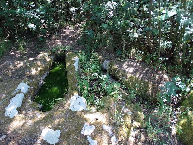 Tumbas antropomórficas do Preguntoiro en Pantón