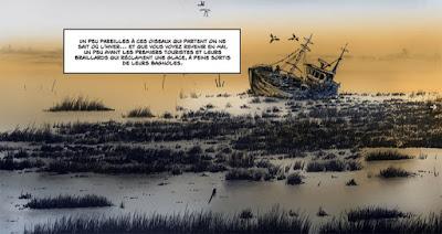 Le Chenal - un décor marins où les épaves font remonter les souvenirs comme un jour de marée haute