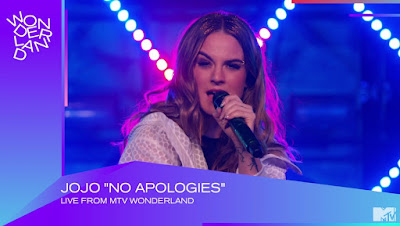 JoJo Performs 'No Apologies.' ft. Wiz Khalifa For MTV Wonderland