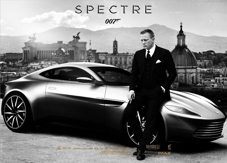 James Bond Spectre poster