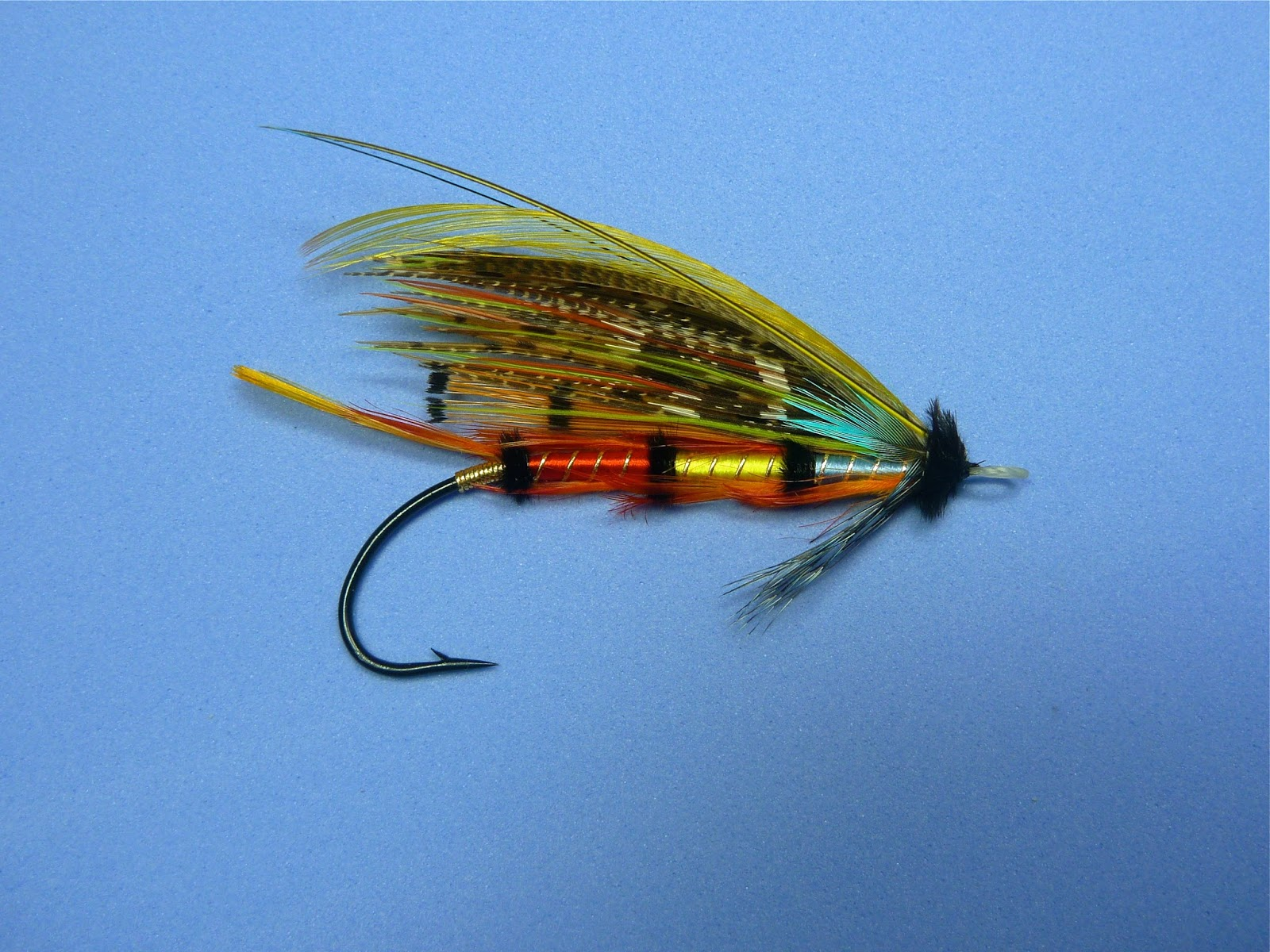 Atlantic Salmon Flies: The Popham 3/0