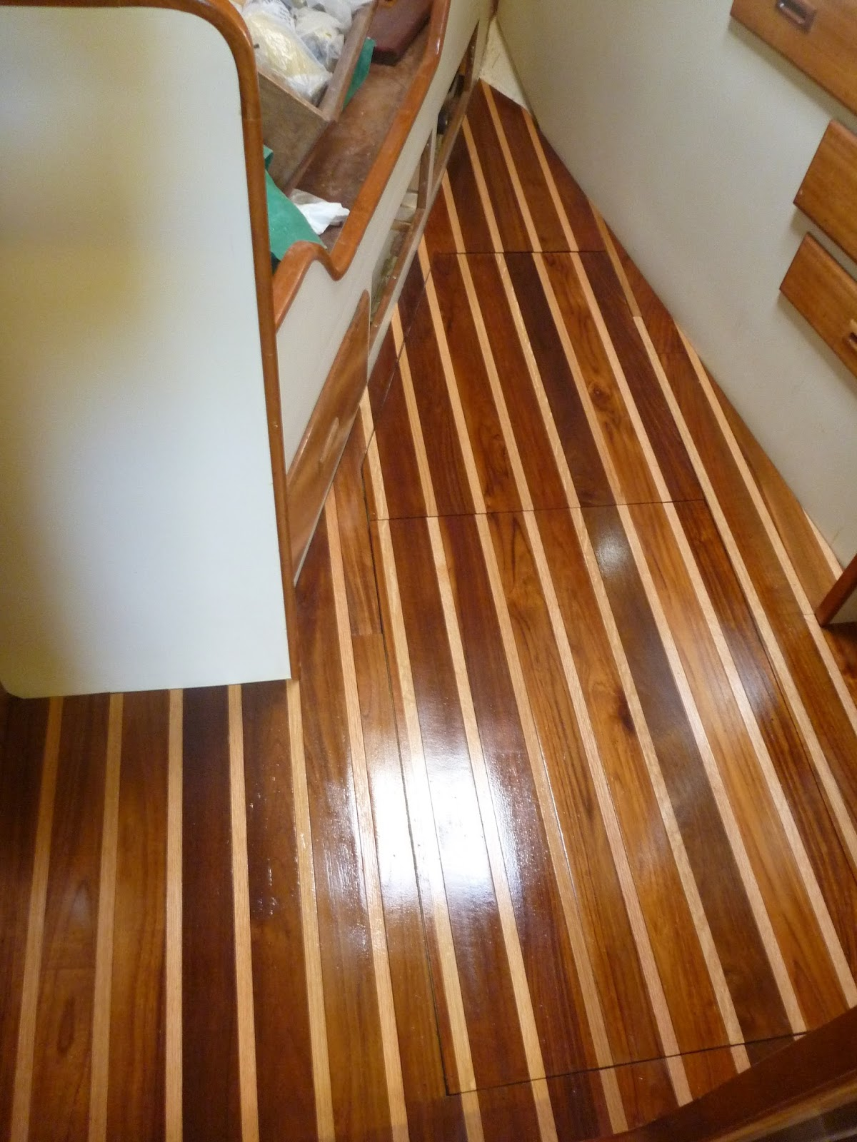 Tung Oil Over Varnish