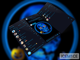 Happy Halloween Theme For YOWhatsApp & Fouad WhatsApp By Whats Plus