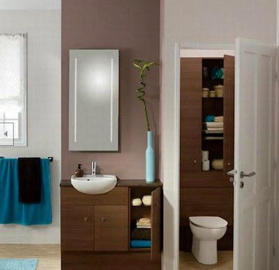 inspirasi desain rumah minimalis modern: ide kamar mandi