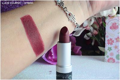swatches recensione lipstick GIARDINO ARIANNA rossetto chamarel  piteraq n 81