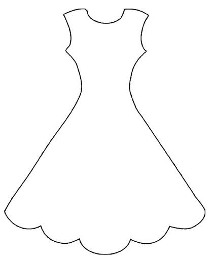 molde de dibujo de vestido de novia oh my bodas. Black Bedroom Furniture Sets. Home Design Ideas