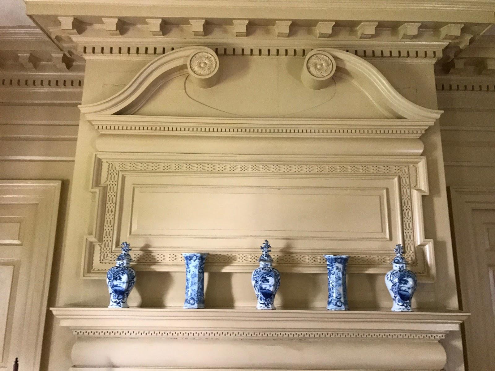 Schuyler Mansion State Historic Site: Paint in the Schuyler Mansion ...