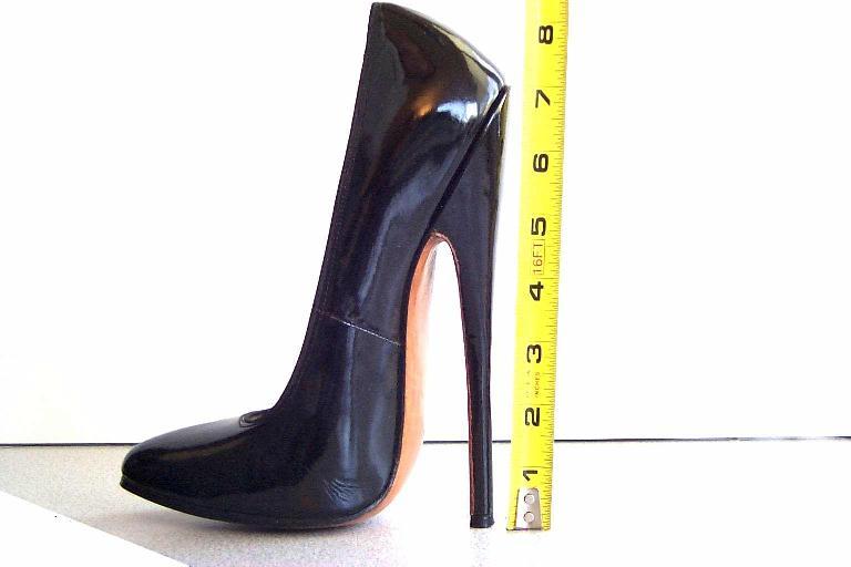 ec5fbbd50698 World s Highest High Heel Shoes