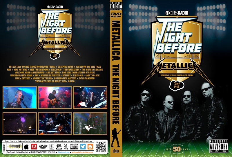 The Night Before Live from AT&T Park San Francisco CA 720p 2016 Metallica 2B2016 02 06 SanFranciscoCalifornia 1