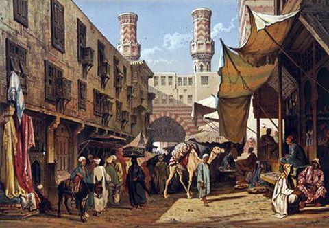 لوحات نادرة عن مصر ( مجموعة ثالثة )