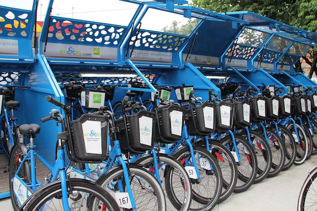 Programas de bike-sharing (bicicletas compartidas)