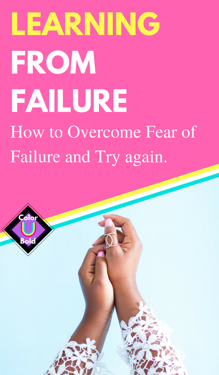 how to overcome fear of failure as an entrepreneur