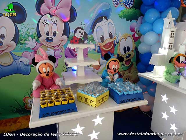 Decoração Baby Disney - festa de aniversário infantil