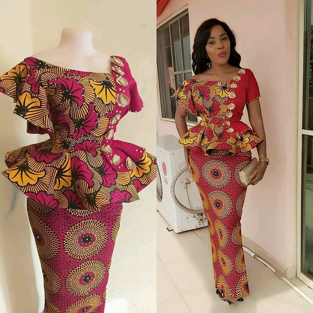 New Ankara Fashion Designs: Modern Ankara Styles 2019 For