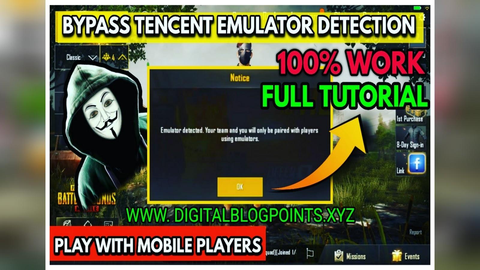 PUBG Emulator Detection Bypass Hack   Games Hacks