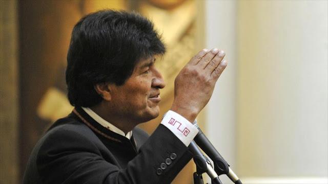 Morales ve a Bolivia más cerca al Pacífico por unidad nacional